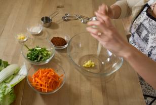 10kimchi ingredients